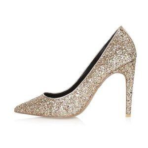 ✨ Topshop GEMINI Glitter Court Shoes ✨